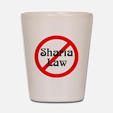 no-sharia-law Shot Glass