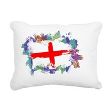 England Flag Rectangular Canvas Pillow