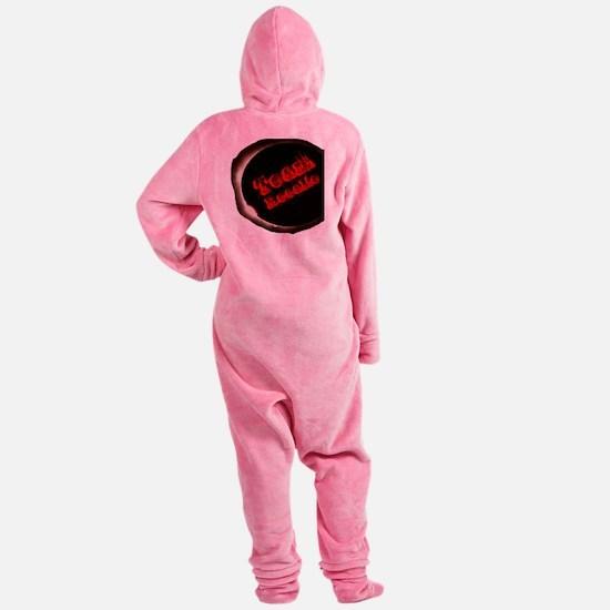 TeamRosalie Footed Pajamas