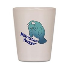 manatee2 Shot Glass
