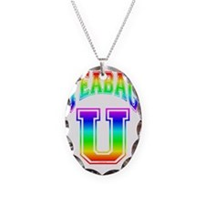 T-U - Necklace Oval Charm