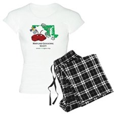 Cafepress MD crab with boot Pajamas