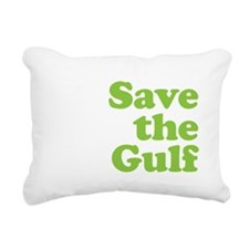 2-savethegulf2-01 Rectangular Canvas Pillow