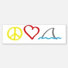 PeaceLove1 Bumper Bumper Sticker