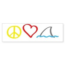 PeaceLove1 Bumper Sticker