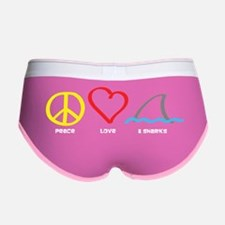 PeaceLove1 Women's Boy Brief