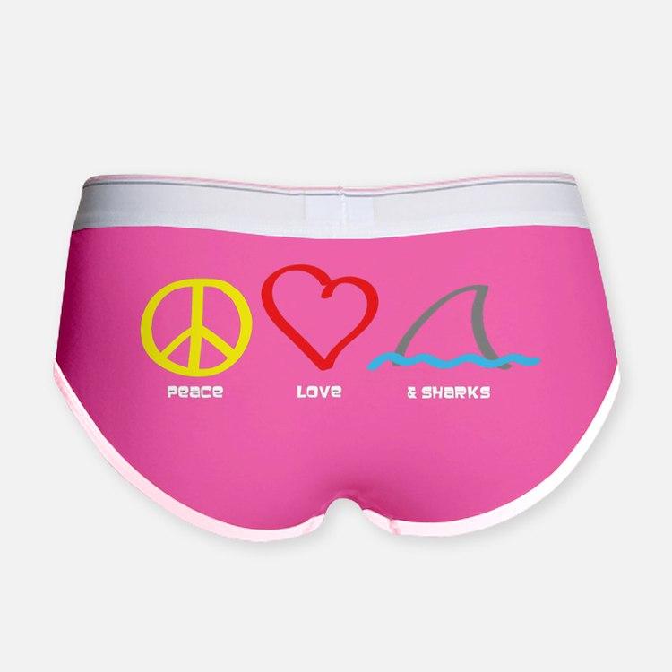 PeaceLove1 Women's Boy Brief