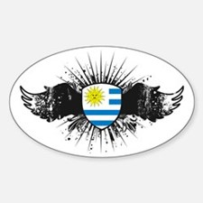 Wings1Uruguay Decal