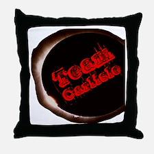 TeamCarlisle Throw Pillow