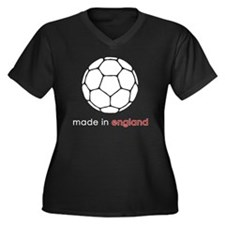 ball copy Women's Plus Size Dark V-Neck T-Shirt
