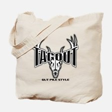 Tag Out No Bkd GPS White Tote Bag