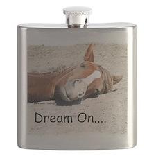 Dream On Sleeping Horse Flask