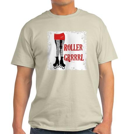 Roller Grrrl leggy Light T-Shirt