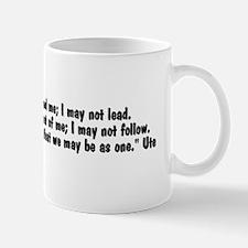 Walk beside me20x6 Mug