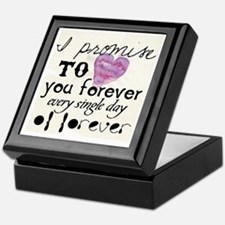 every day of forever Keepsake Box