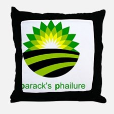 baracks phailure Throw Pillow