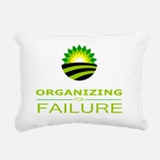 organizing for failure Rectangular Canvas Pillow