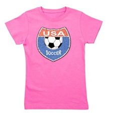 USA Soccer Shield 1 Girl's Tee