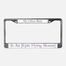 Epic Flying Mount License Plate Frame