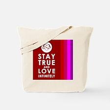 INFINITE LOVE Multicolor Tote Bag