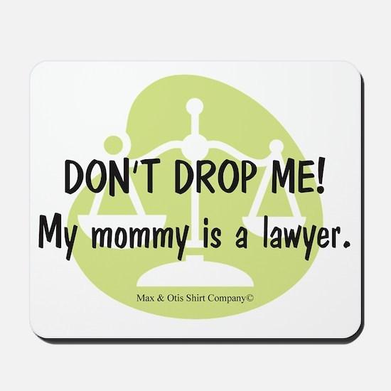2-lawyer-mommy Mousepad