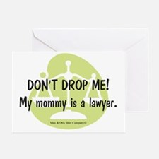 2-lawyer-mommy Greeting Card