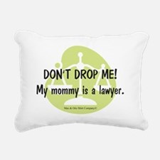 2-lawyer-mommy Rectangular Canvas Pillow