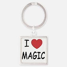 MAGIC01 Square Keychain