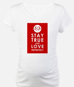 INFINITE LOVE Heart Red Shirt