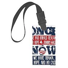 Obama, No Hope, No Cash (large) Luggage Tag