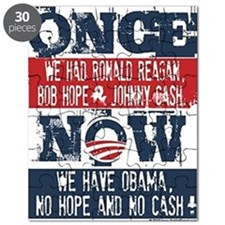 Obama, No Hope, No Cash (large) Puzzle