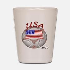 usa with 2010 Shot Glass