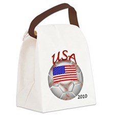 usa with 2010 Canvas Lunch Bag