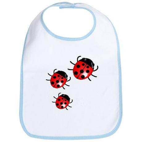 Lady Bugs Bib