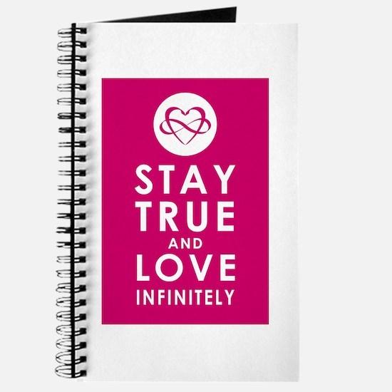 INFINITE LOVE Plum Pink Journal