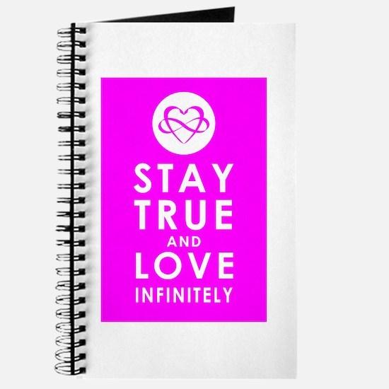 INFINITE LOVE Fierce Fuchsia Journal