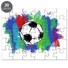 Soccer Ball Colors Puzzle