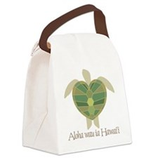 74_Turtle Canvas Lunch Bag