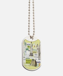 empower5x8yellow Dog Tags