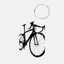 bikeonespeed Keychains