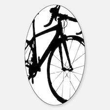 bikeonespeed Sticker (Oval)