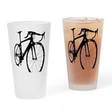 bikeonespeed Drinking Glass