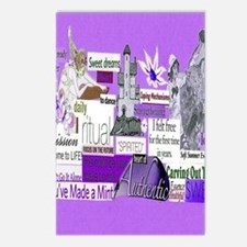 empower16x20purp Postcards (Package of 8)