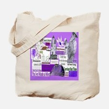 empower16x20purp Tote Bag
