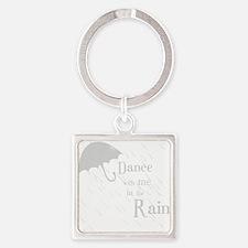 Rain-DanceW Square Keychain