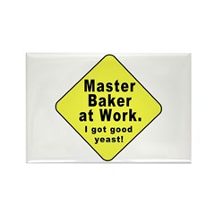 Dad-To-Be:Master Baker! Rectangle Magnet (100 pack