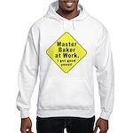 Dad-To-Be:Master Baker! Hooded Sweatshirt