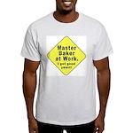 Dad-To-Be:Master Baker! Ash Grey T-Shirt