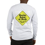 Dad-To-Be:Master Baker! (OnBack) Long Sleeve T-Shi