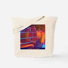 ViolinBlueStrings-poster Tote Bag